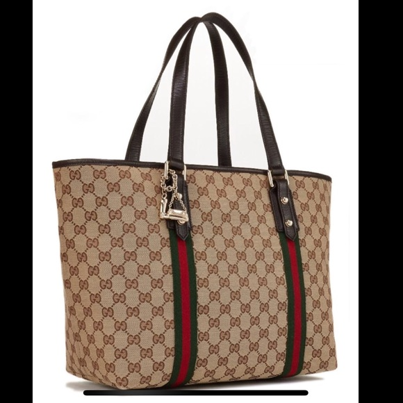 0dc8b30aab4 Gucci Handbags - Gucci Large Jolicoeur Tote